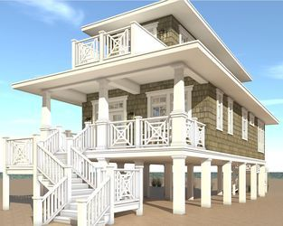 Beach House Plan 003-127