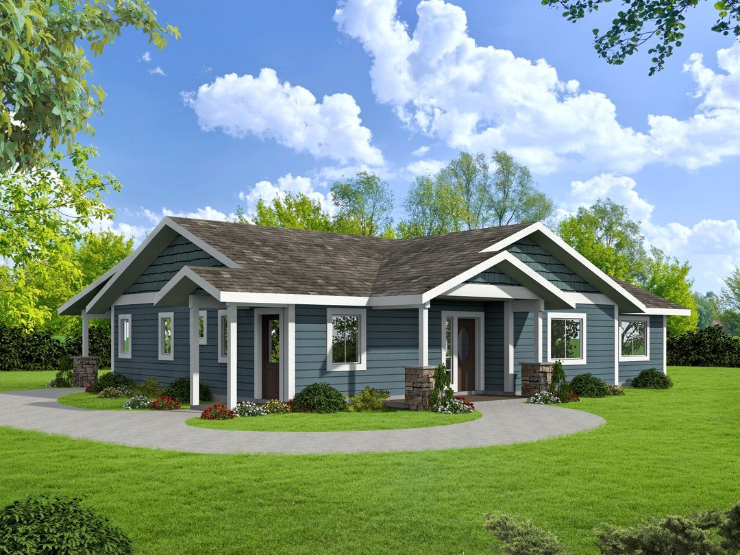Bungalow Home 001-3615