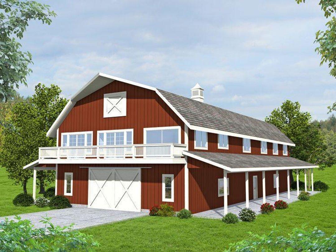 Barn House Plan