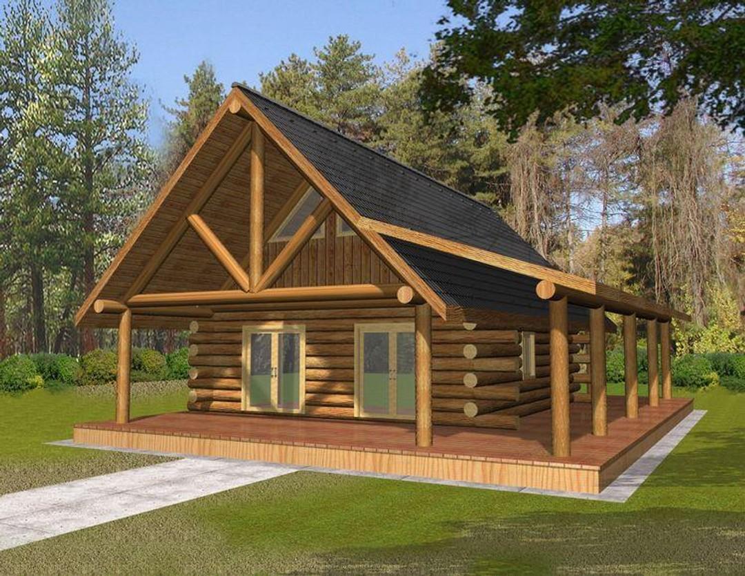 Cabin Plan 001-1072