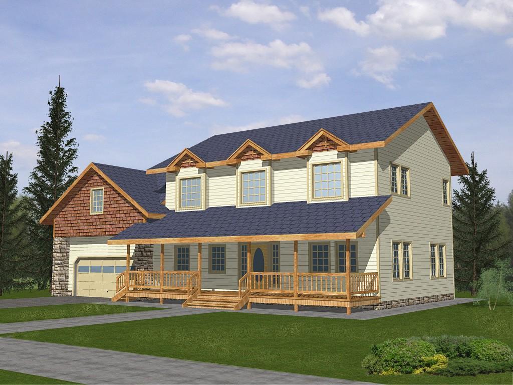 Cape Cod Home Plan 001-3100