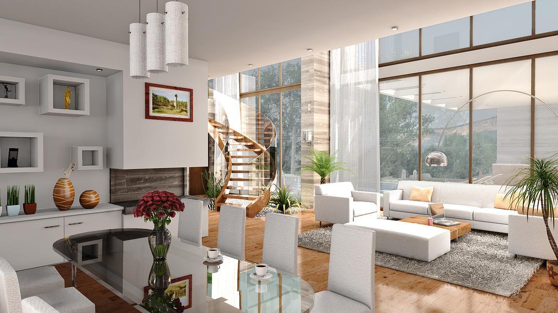 Interior 3D Rendering - shop.homestratosphere.com